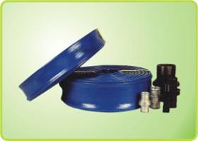 蓝色水带管