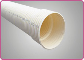 地下通信管道用PVC-U双壁波纹管